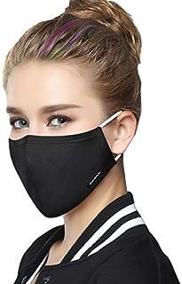 mondmasker/mondkapje herbruikbaar – groen + 2 extra filters (zwart)
