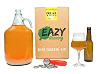 ✅ UN CADEAU ORIGINAL — Il ou elle aime la bière ? Ce kit de brassage transformera tout amateur de bière en brasseur autonome. Il vous donnera le plaisir, l'indépendance et l'expérience nécessaires pour déguster votre propre bière à la maison. ✅ SIMPL...