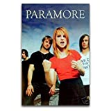 9023-MU Paramore Group Shot - Póster de pared y póster para decoración de dormitorio familiar moderno, 40 x 60 cm