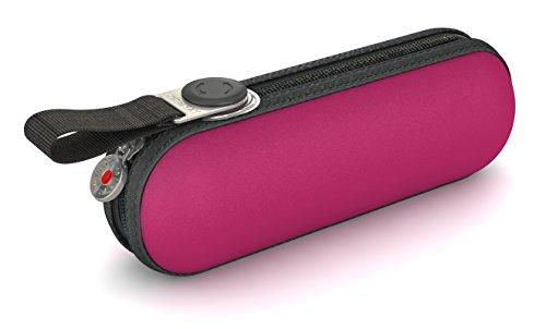 Knirps Taschenschirm X1 Uni – Der kleinste Regenschirm von Knirps – Leicht und kompakt –Windproof – Pink