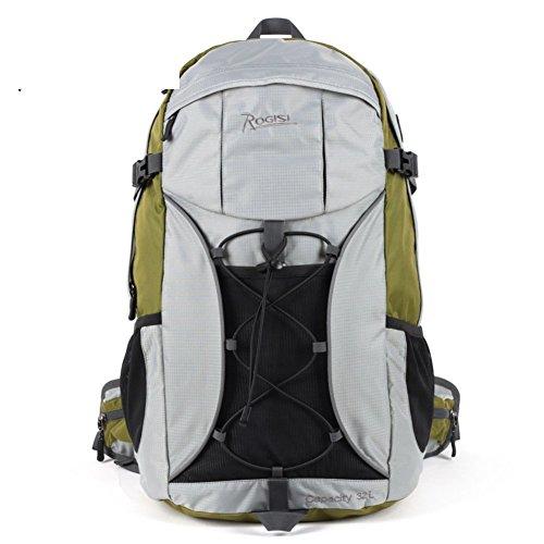 Sincere® Package / Sacs à dos / Portable / Ultraléger extérieur sac de randonnée imperméable / 32L randonnée à dos d'équitation Herbe verte 32L