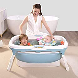 MATERIAL: Food-grade imported environmentally friendly PP raw materials are strictly controlled, skin-friendly and non-irritating PORTABLE AND FOLDING: Size: 107 x 59x 53cm / 42 x 23.2 x 21 inch. Adults under 170cm can stretch their legs freely in th...