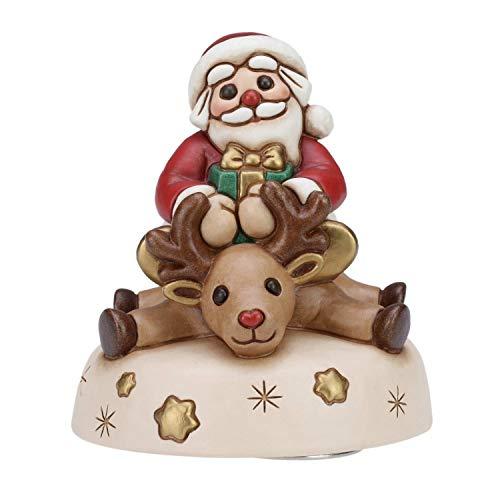 THUN ® - Carillon In Ceramica Con Babbo Natale