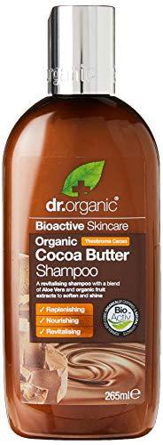 Dr. Organic Cocoa Butter - Shampoo Al Burro Di Cacao, Intenso Profumo Di Cioccolato Per I Tuoi Capelli - 200 Gr