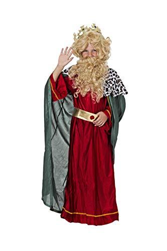 Costumizate! Disfraz de Rey Mago Rubio para niño Talla 10-12 Especial de Navidad