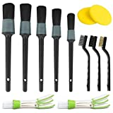 GAOAG 12Pcs Detailing Brush Set Car Detail Brush for Auto Detailing Cleaning Car