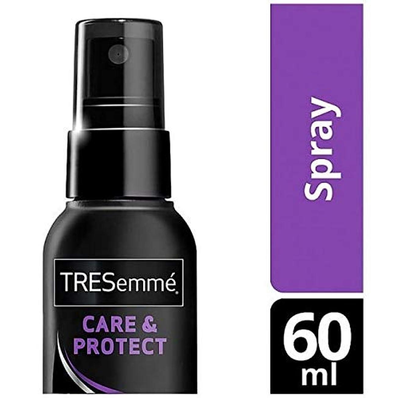 悪の耕す癒す[Tresemme] Tresemme熱防衛スプレー60ミリリットル - Tresemme Heat Defence Spray 60ml [並行輸入品]