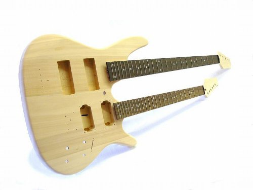 Bausatz Doppelhals/DIY Kit Double Neck