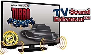 A TV Sound Bar Alternative; Affordable TV Accessory Gives Your TV's Sound Wave's a Boost and Focused in The Right Direction, Your Ear's, not Bouncing Aimlessly All Over! Crisp Clear Sound for Less.