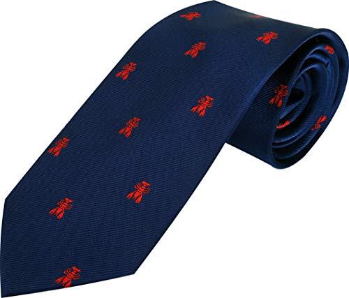 HOWARDS Cravatta in microfibra jacquard, presentata in confezione regalo ... (GRANCHIO)