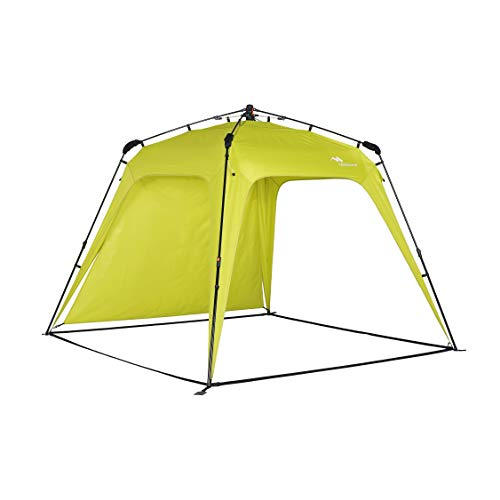 pop up shade tents Beach Canopy Sun Shelters Shade Tent Pop Up 8.2' X 8.2' - Instant Portable Beach Shade, Easy Set-up and Take Down, with Sun Protection and One Shade Wall Included