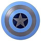 Escudo Capitan America 58CM 1: 1 Material ABS, Adulto NiñOs Apoyos de PelíCula CapitáN AméRica Shield Disfraz Shield, DecoracióN de Pared de Bar