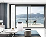 Sliding Door Vent Kit | 12'x79' Universal Balcony Zipper Screen Door Seal for Portable A/C and Tumble Dryer