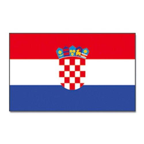 Flaggenking Kroatien Flagge/Fahne, mehrfarbig, 150 x 90 x 1 cm, 17010