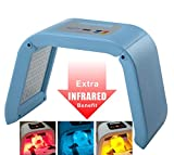 HydraskincarePro 4 Color LED Face Photon Red Light Therapy For Healthy Skin...