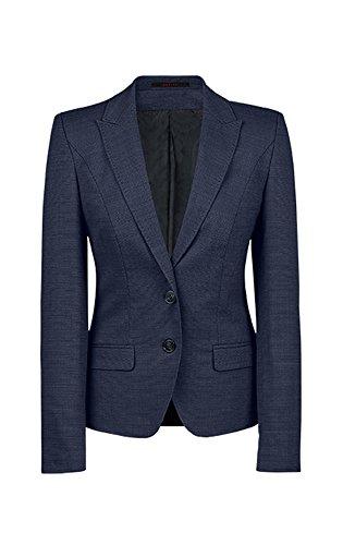 GREIFF Damen-Blazer Regular Fit, modern with 37,5, Regular fit, 1426, Pinpoint Marine, Größe 42