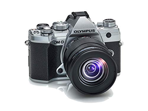 Olympus OM-D E-M5 Mark III Micro Four Thirds Systemkamera Kit, 20 MP Sensor, 5-Achsen Bildstabilisator, leistungsstarker Autofokus, 4K-Video, WLAN, Silber inkl. 12-45mm M.Zuiko PRO Objektiv