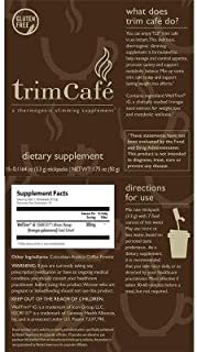 TLS Trim Café, Thermogenic Slimming Supplement, Helps Curb Appetite, Promotes Healthy Weight Management, Supports Metabolic Balance and Wellness, Market America (15 stickpacks)