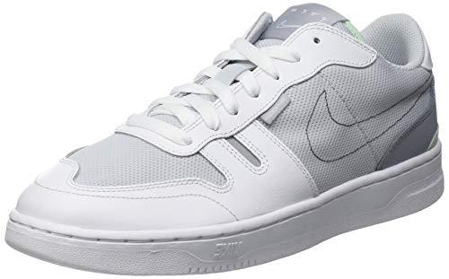 Nike Squash-Type, Zapatillas de Gimnasio Hombre, Pure Platinum/Wolf Grey-White, 44 EU
