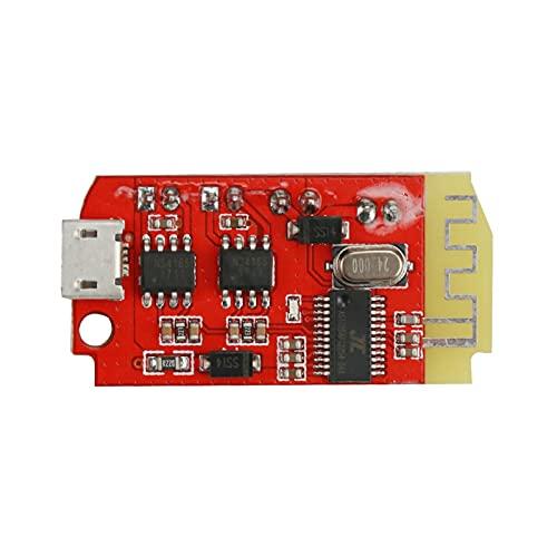 Wnuanjun 1Set Stereo-Buletooth-Verstärker-Lautsprecherplatine 5W * 2 USB Soundkarten-Mini-Verstärker 3.7-5V Lithium-Batterie Bluetooth 5.0