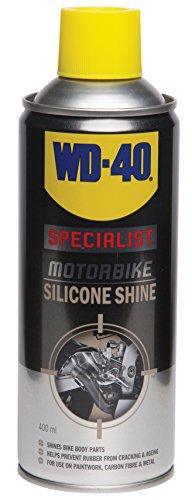 WD 40,Specialist Motorbike Silicone Shine, lucidante al silicone per moto (versione inglese)