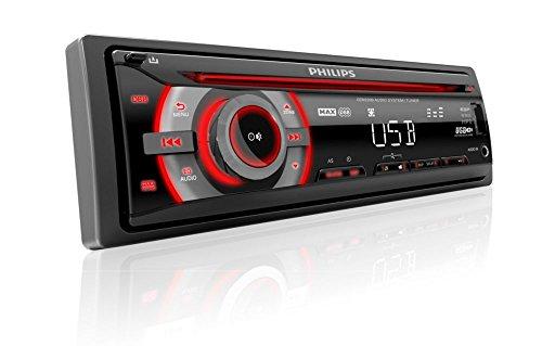 Philips phicem2200Autoradio, Schwarz