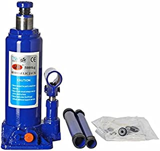 LEO 5 Ton Blue Hydraulic Bottle Jack (Standard for All Vehicles)