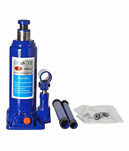 Vocado 5 Ton Blue Hydraulic Bottle Jack (Standard for All Vehicles)