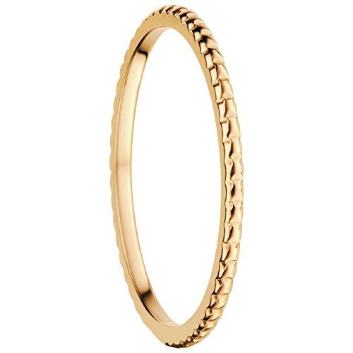Bering Damen-Ring InnenRing Edelstahl teilvergoldet Gr. 60 (19.1) - 562-20-70