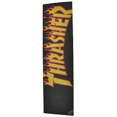 "mob Thrasher Flame Logo 9"" Griptape"