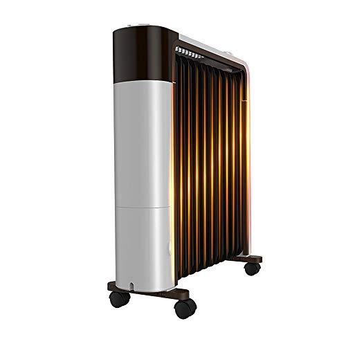 Great Deal! Heating/humidifying/drying Radiator Heater 360° Three-dimensional Heating Oil Heater wi...