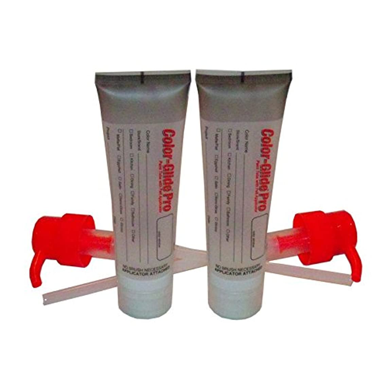Color-Glide Pro Applicator Paint Tubes 2 Pack, Medium