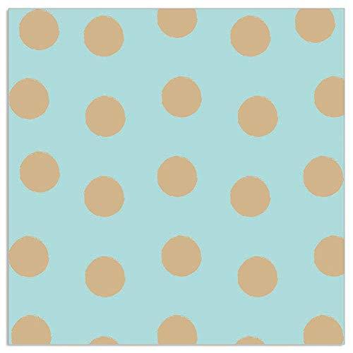 ARTEBENE Serviette Papierserviette Dots Tissue   20 Stück   3-lagig   Hochwertige Serviette für Feiern, Geburtstage, Kaffee und Kuchen