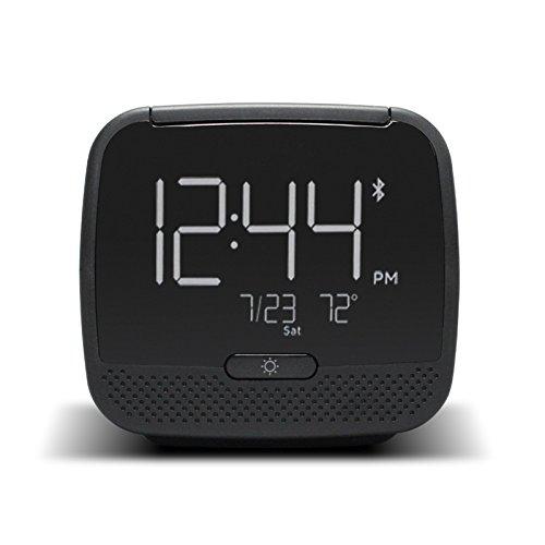 Shuangklei Radio Desk Alarm Klok Draadloze Bluetooth Speaker Snooze Mute Gadgets Lcd Digitalclock