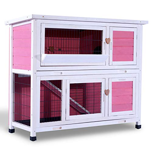 Super Pet Rabbit Hutch 2-story 48 Wide