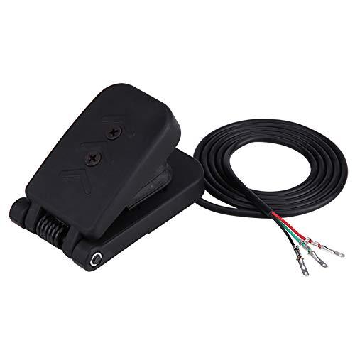 Pedal de freno de pie ATV, montaje simple, desgaste duradero del pedal de freno, material plástico ABS para scooter