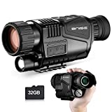 Digital Night Vision Monocular 8X40 HD Infrared with 1.5 inch TFT LCD