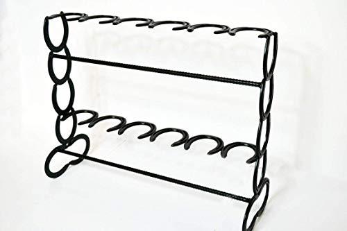 Horseshoe Boot Rack, Cowboy Boot Display, Boot Organizer