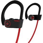 Bluetooth Kopfhörer HolyHigh Yuanguo2 Best Wireless Sport Kopfhörer mit einem IPX7 Mikrofon/wasserfeste HD Steoreo Kopfhörer fürs Fitnesstudio/Geräusch unterdrückendes Headset …