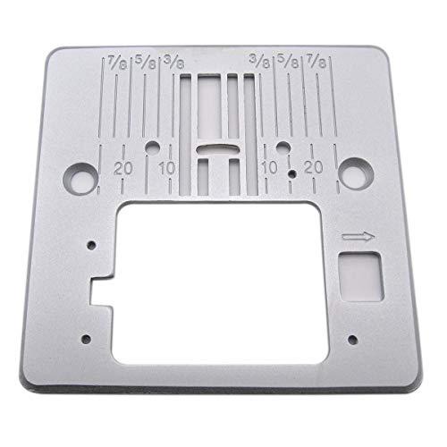 CKPSMS - 1 placa de aguja #416472401 para Singer 4411 4423 5523 5532 resistente, 5554 85SCH