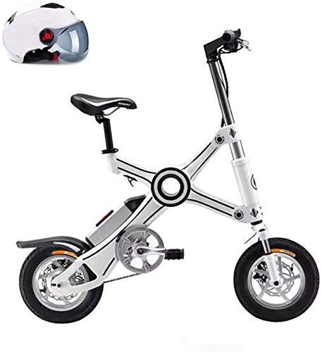 Alta velocidad 10' bicicleta plegable eléctrica, Bicicletas batería de litio de 36V 10AH 8AH Playa / Nieve bicicletas E-bici eléctrica 250W Electric Mountain, padre-hijo Marco bicicleta eléctrica de a