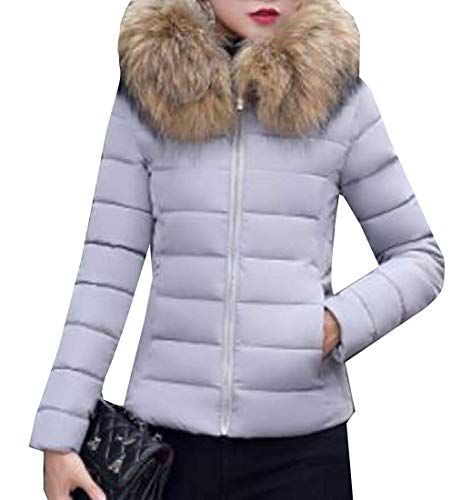 Vrouwen Winter Dikker Warm Down Parka Hoodies Slim Jas