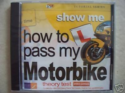 How to pass my Motorbike theory test