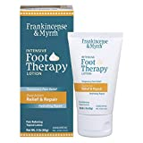 Frankincense & Myrrh Foot Pain Relief Lotion - Intensive Foot Therapy - Dual Action Pain Relief and Hydrating Skin Repair with Essential Oils, 3 Ounce (Pack of 1)