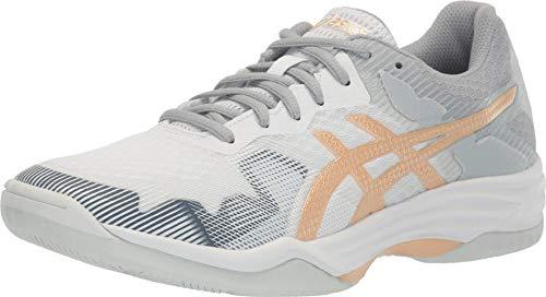 ASICS Women's Gel-Tactic 2 Training Shoes, 8M, White/Champagne