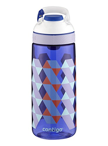 Contigo AUTOSEAL Courtney Kids Water Bottle 20oz Cerulean Braid Blue BPA-Free