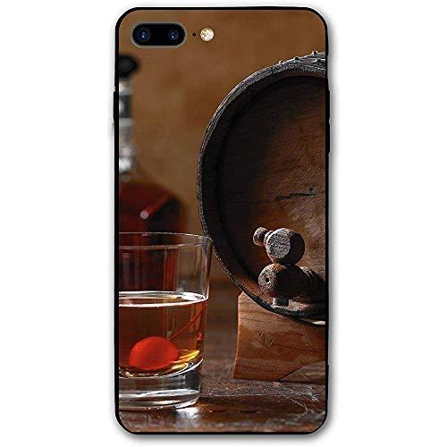 Binnenwinkel compatibel met Whiskey Barrel Aged Cocktail iPhone 7 Plus / 8 Plus iPhone 7/8 Plus schokbestendig hoesje huid