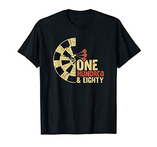 Geschenke für Dart-Spieler mit Dart-Motiv, Sprüche T-Shirt