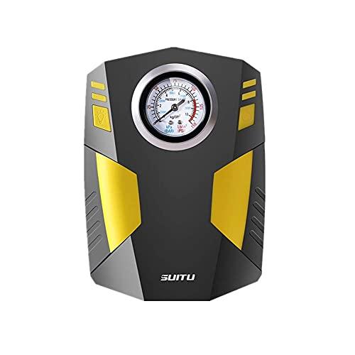 Bombas de aire a batería Compresor de aire Inflador automático de neumáticos Inflador de neumáticos digital Herramienta de aire Inflador de neumáticos con indicador de manómetro, talla única
