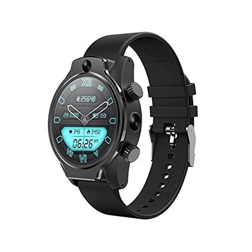 HYK 4G reloj inteligente, pantalla táctil IP68, 1360Mah800w cámara dual 3+32G deportes deportes multifuncional reloj deportivo